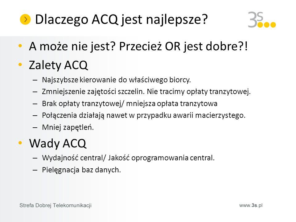 Dlaczego ACQ jest najlepsze