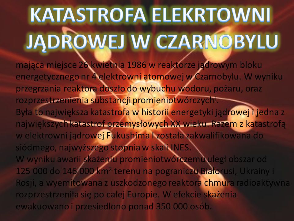 KATASTROFA ELEKRTOWNI