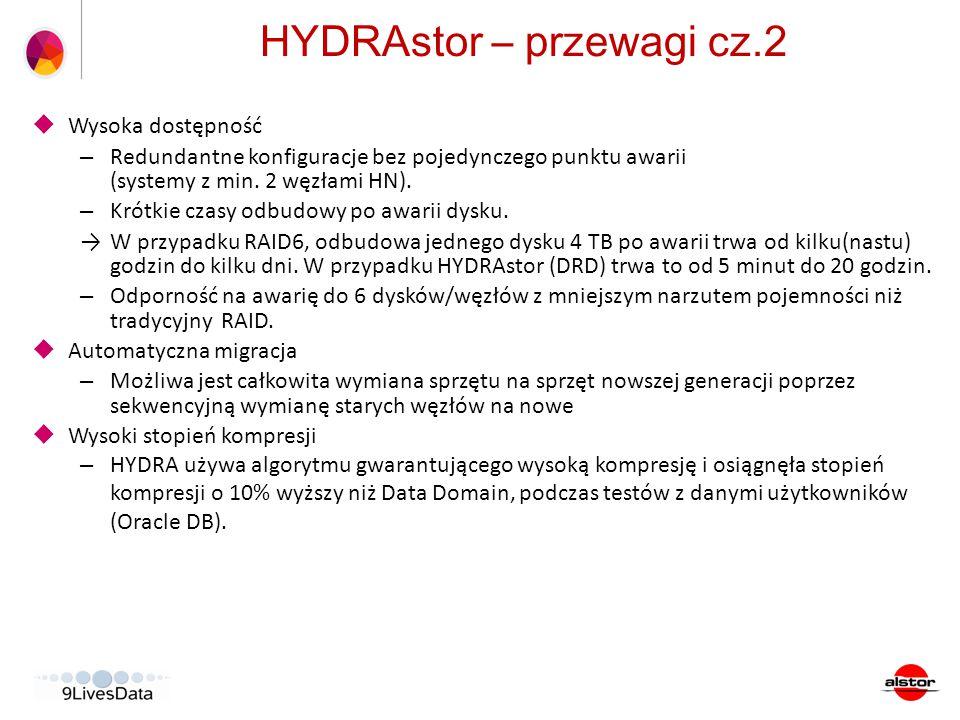 HYDRAstor – przewagi cz.2