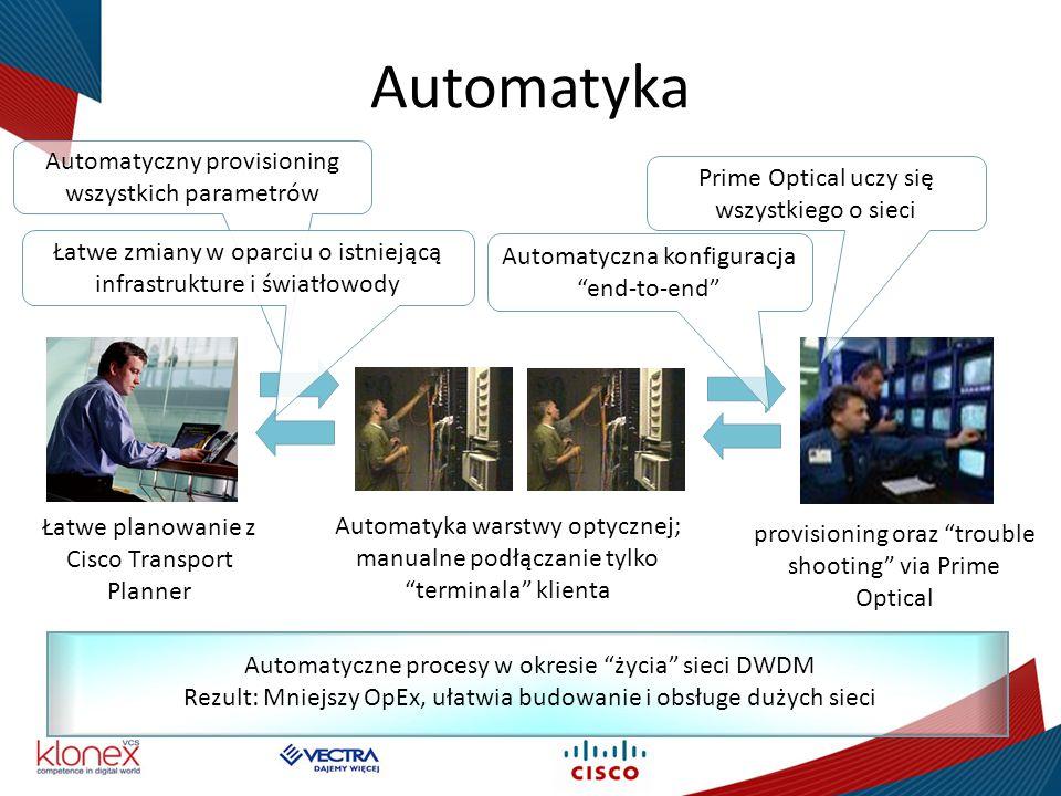 Automatyka Automatyczny provisioning wszystkich parametrów