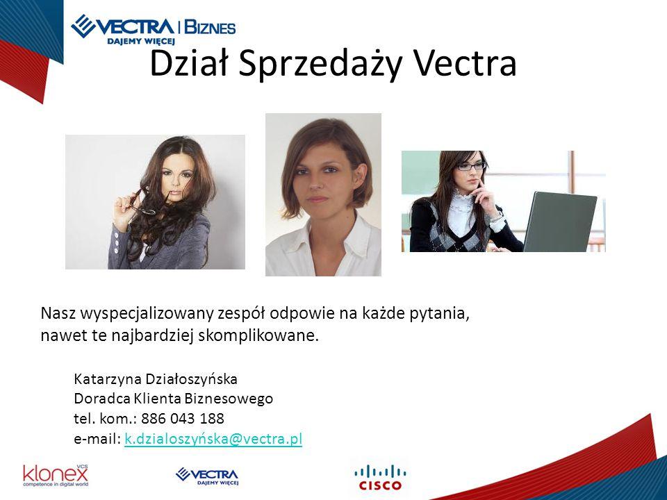 Dział Sprzedaży Vectra