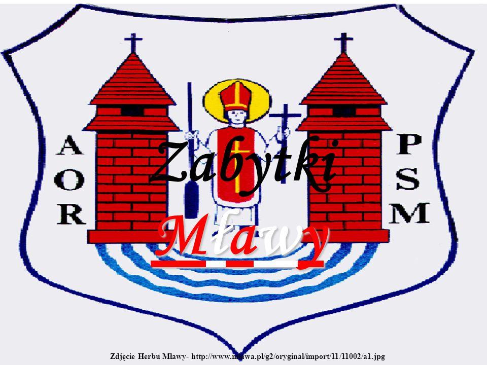 Zabytki Mławy Zdjęcie Herbu Mławy- http://www.mlawa.pl/g2/oryginal/import/11/11002/a1.jpg