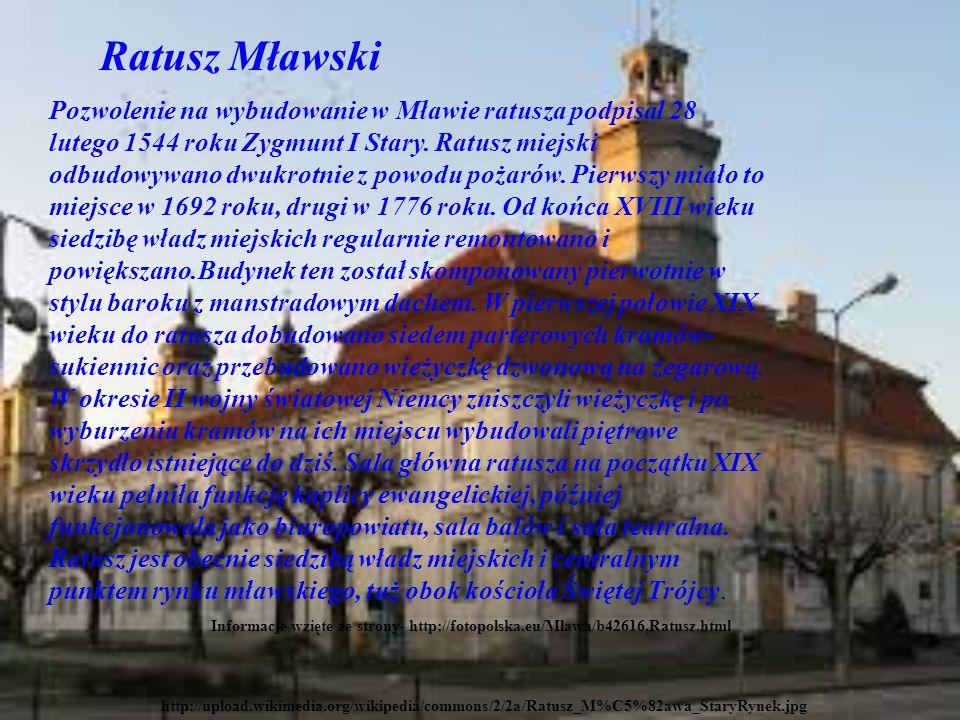 Ratusz Mławski