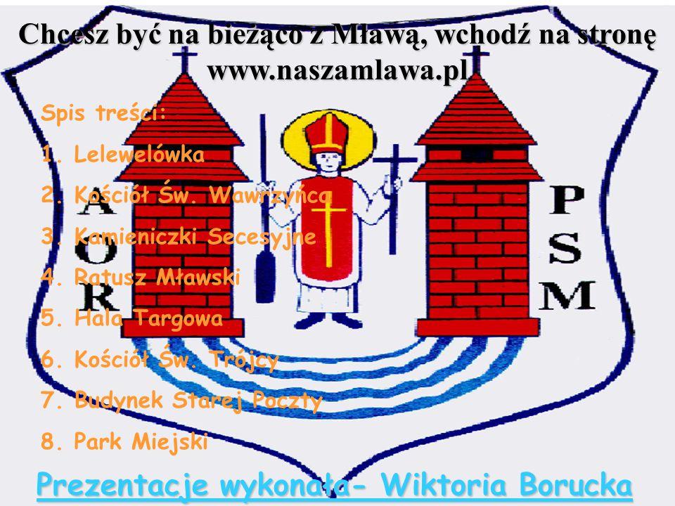Chcesz być na bieżąco z Mławą, wchodź na stronę www.naszamlawa.pl