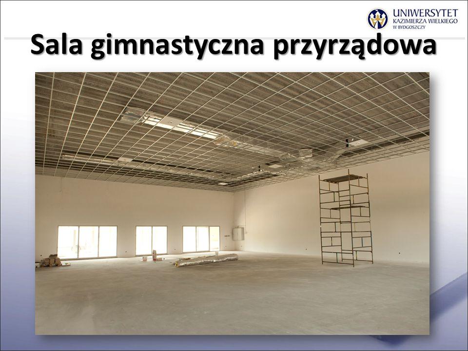 Sala gimnastyczna przyrządowa