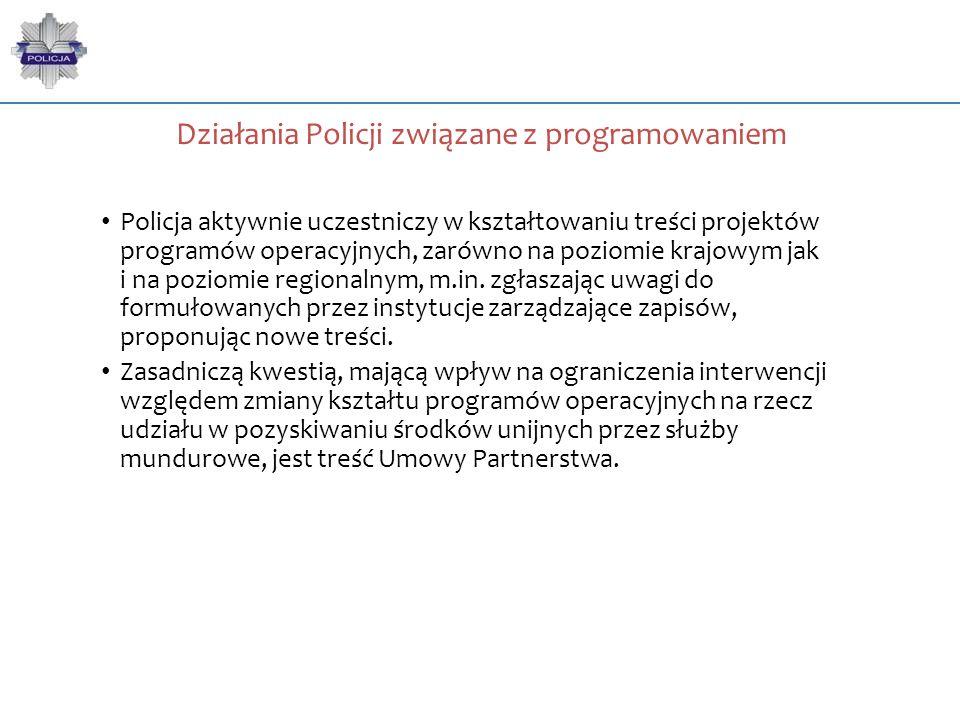 Działania Policji związane z programowaniem