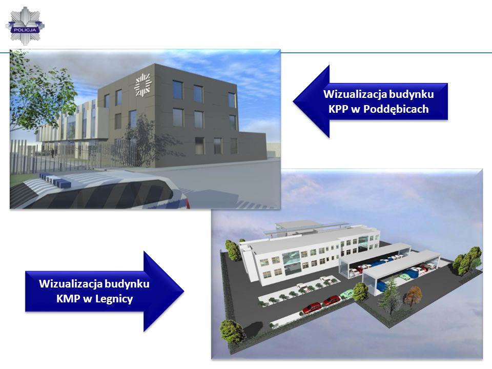 Wizualizacja budynku KPP w Poddębicach