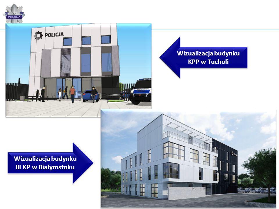 Wizualizacja budynku KPP w Tucholi