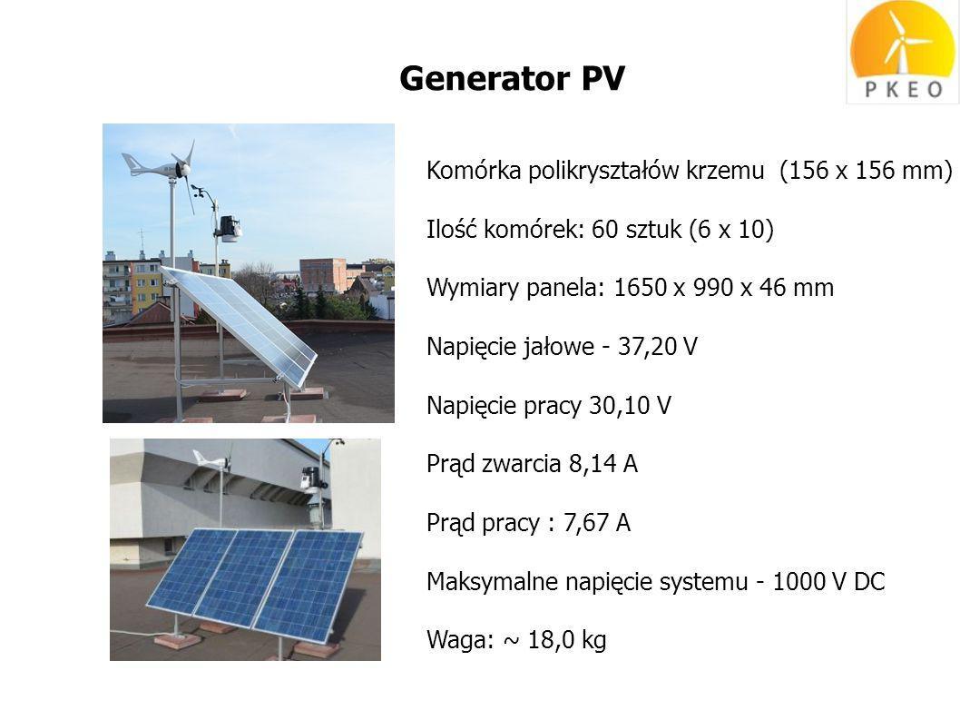 Generator PV Komórka polikryształów krzemu (156 x 156 mm)