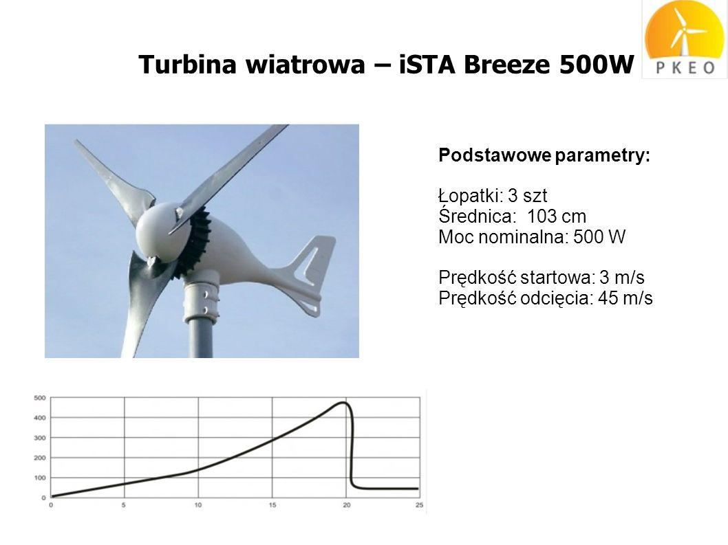 Turbina wiatrowa – iSTA Breeze 500W