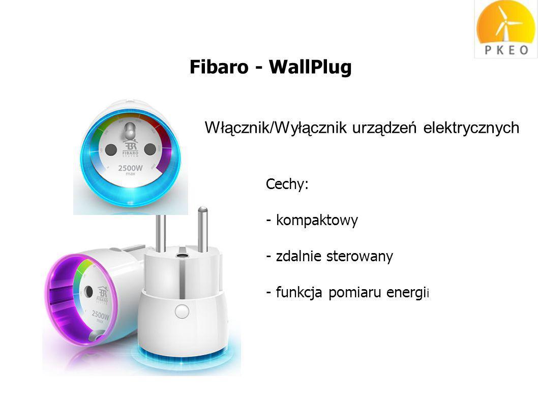 Fibaro - WallPlug Włącznik/Wyłącznik urządzeń elektrycznych Cechy: