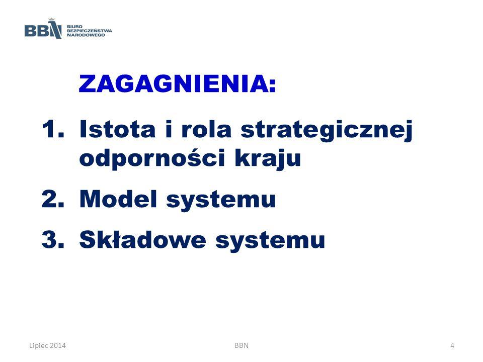 Istota i rola strategicznej odporności kraju