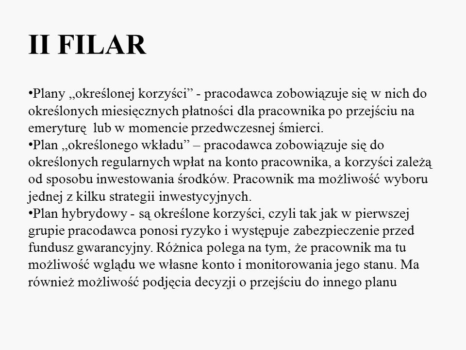 II FILAR