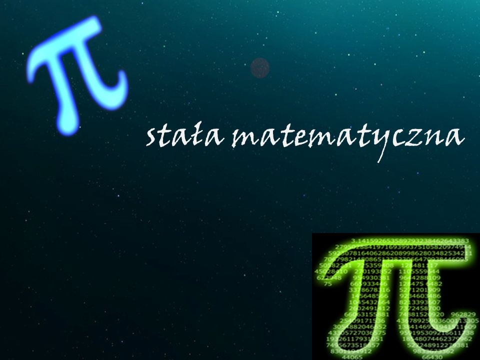 stała matematyczna
