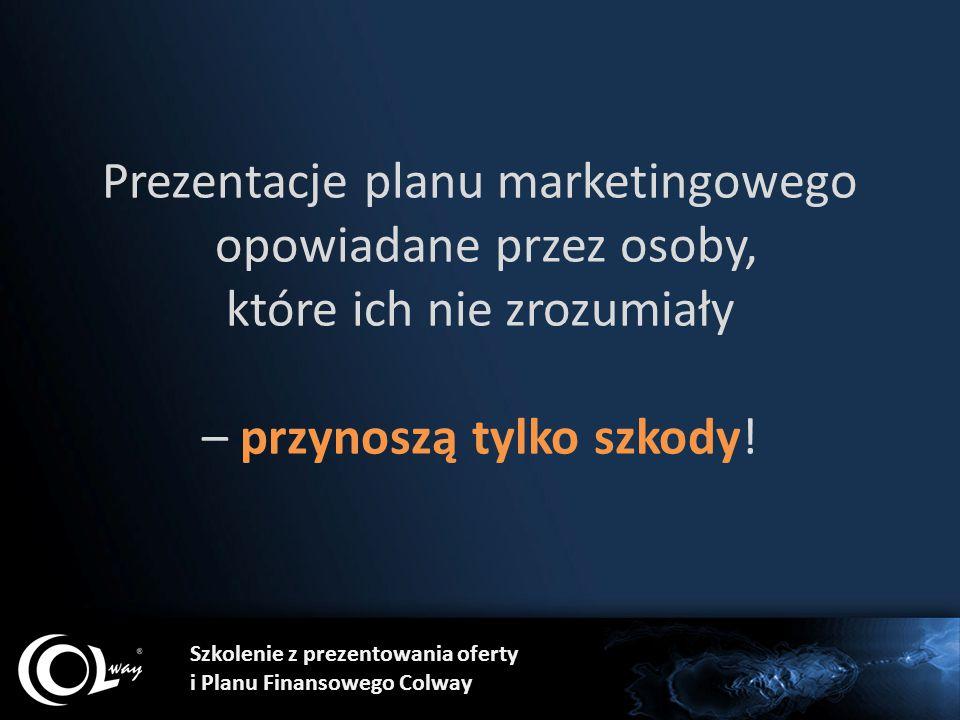 Prezentacje planu marketingowego opowiadane przez osoby, które ich nie zrozumiały – przynoszą tylko szkody!