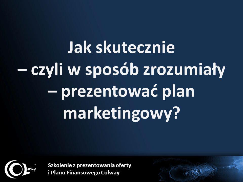 Jak skutecznie – czyli w sposób zrozumiały – prezentować plan marketingowy