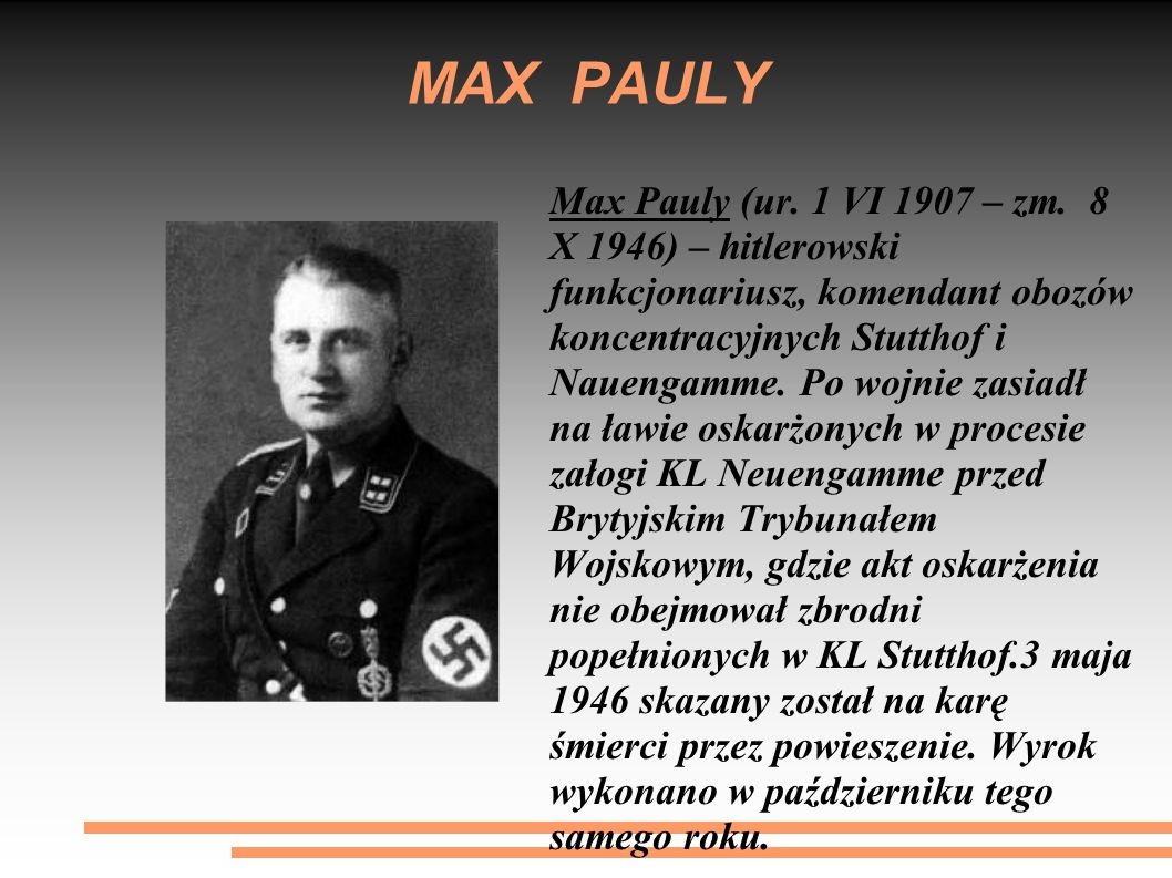 MAX PAULY