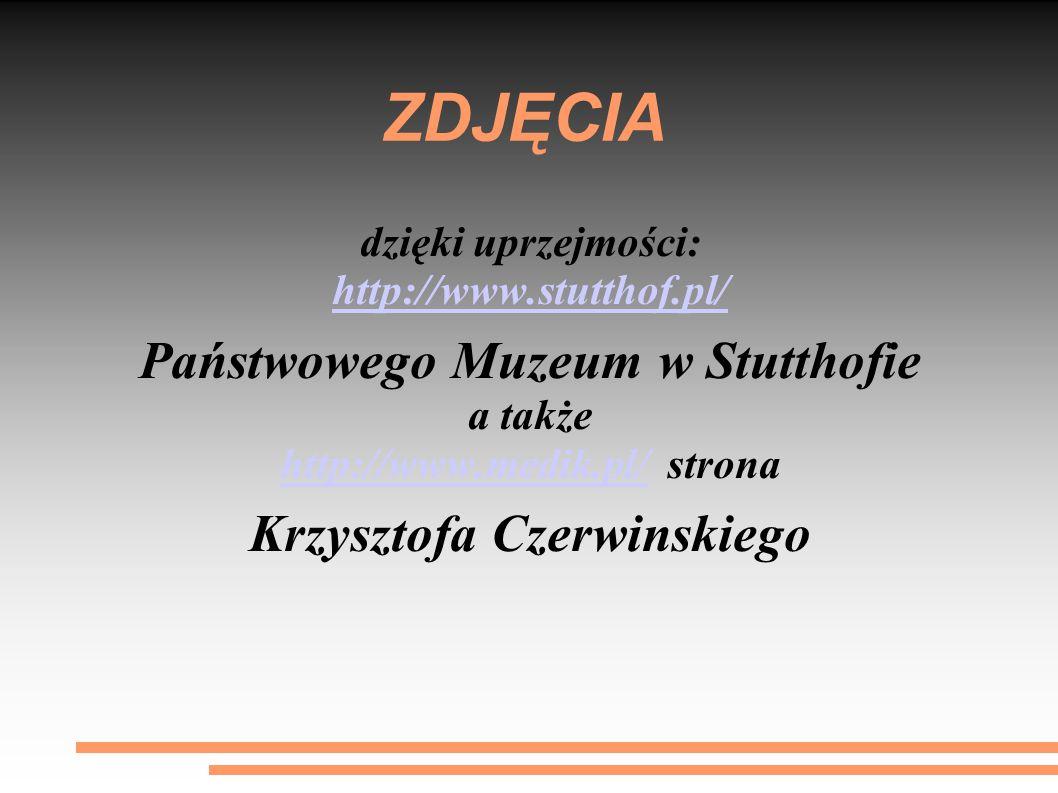 ZDJĘCIA Państwowego Muzeum w Stutthofie Krzysztofa Czerwinskiego