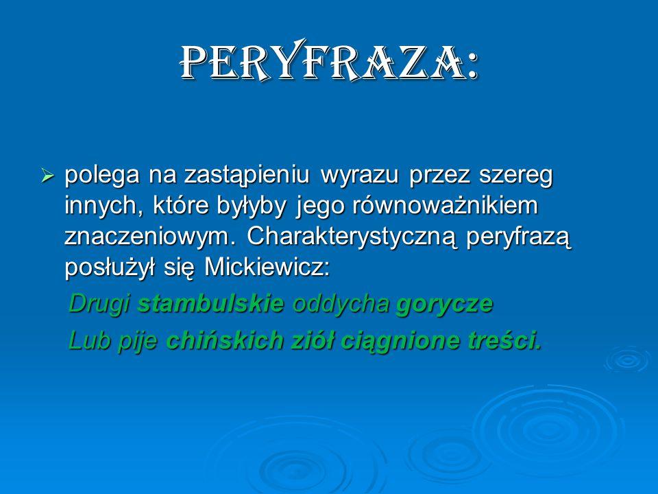 PERYFRAZA: