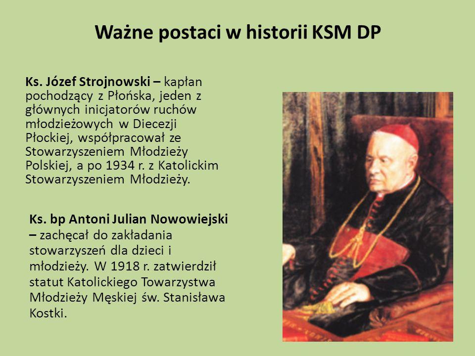 Ważne postaci w historii KSM DP