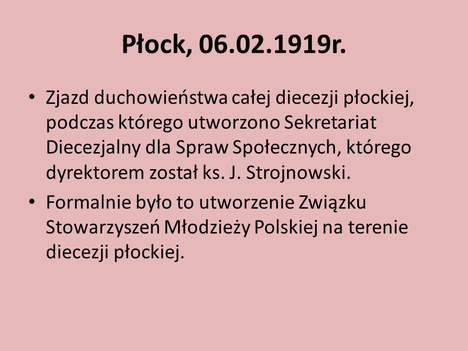 Płock, 06.02.1919r.
