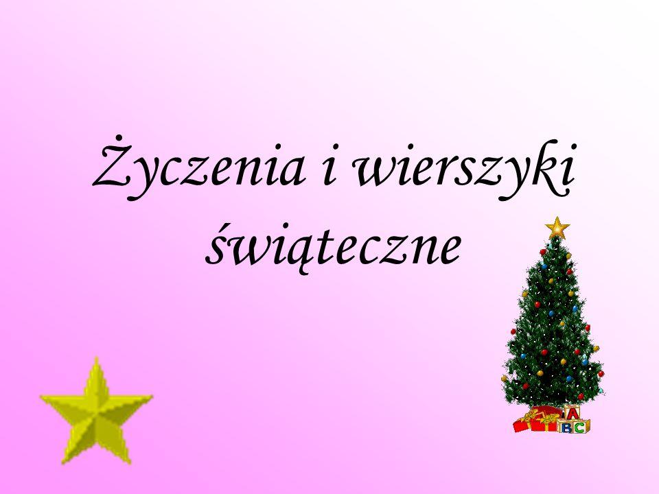 Życzenia i wierszyki świąteczne