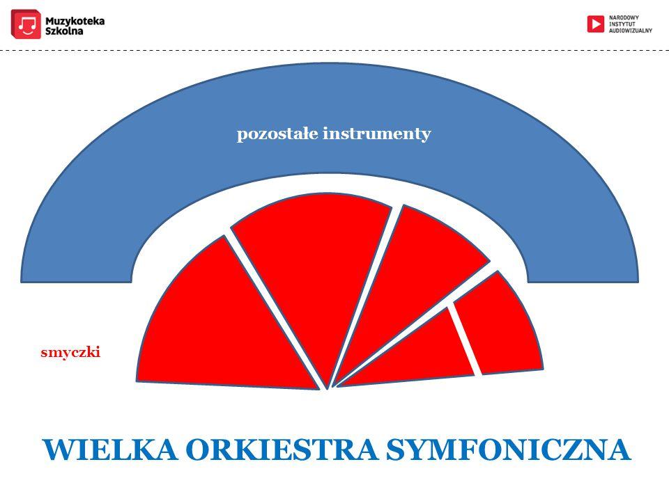 pozostałe instrumenty WIELKA ORKIESTRA SYMFONICZNA