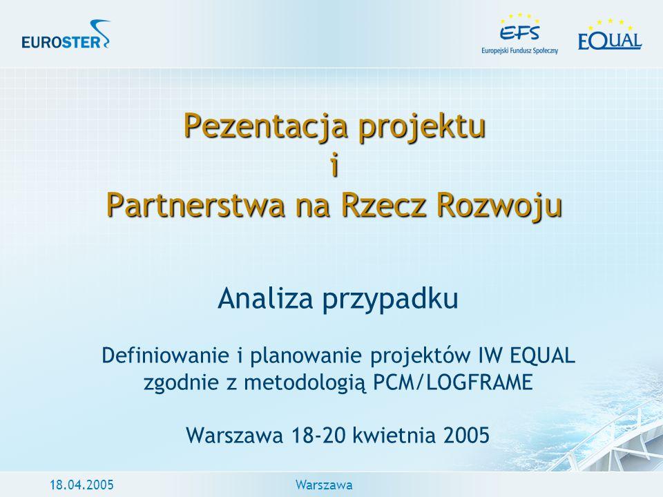 Pezentacja projektu i Partnerstwa na Rzecz Rozwoju