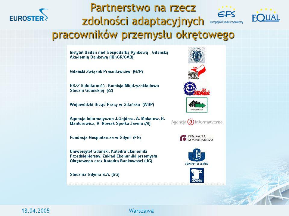 Partnerstwo na rzecz zdolności adaptacyjnych pracowników przemysłu okrętowego