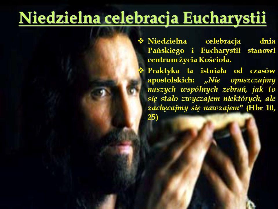 Niedzielna celebracja Eucharystii