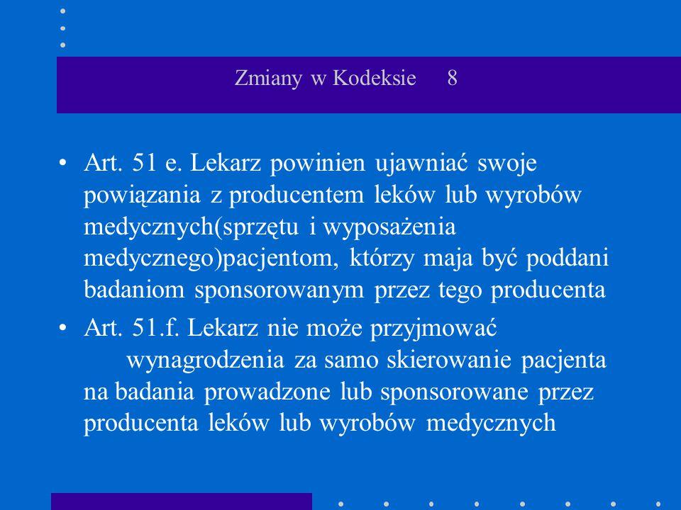 Zmiany w Kodeksie 8