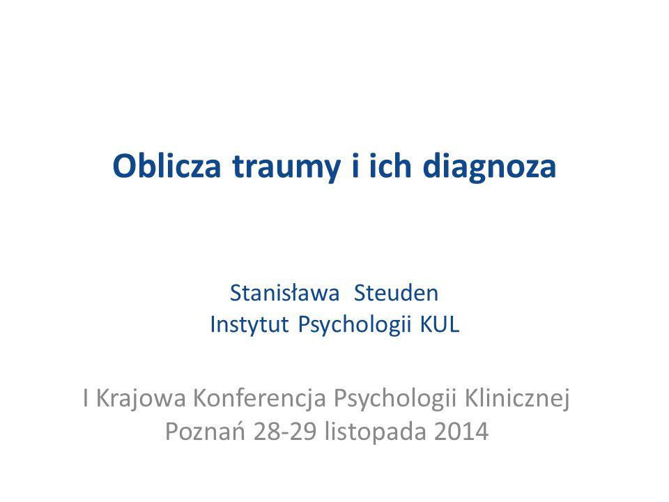 I Krajowa Konferencja Psychologii Klinicznej