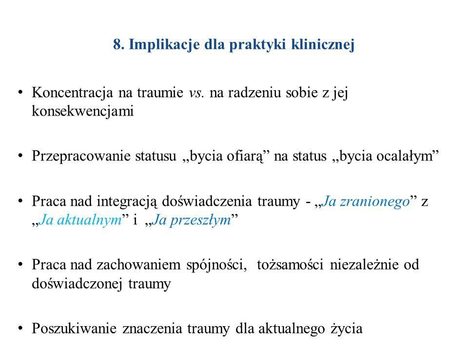 8. Implikacje dla praktyki klinicznej