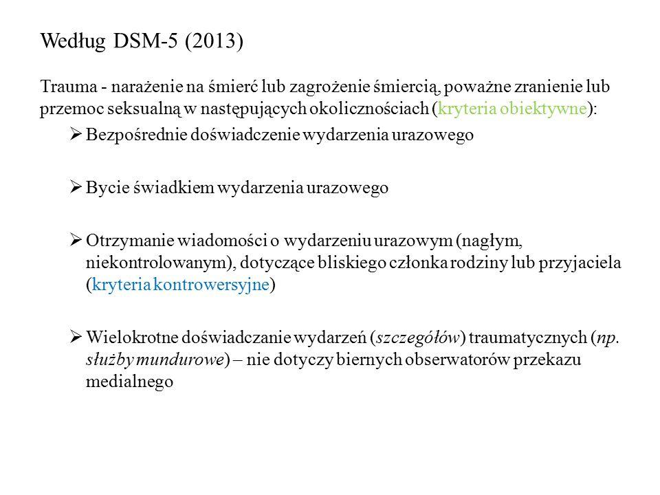 Według DSM-5 (2013)