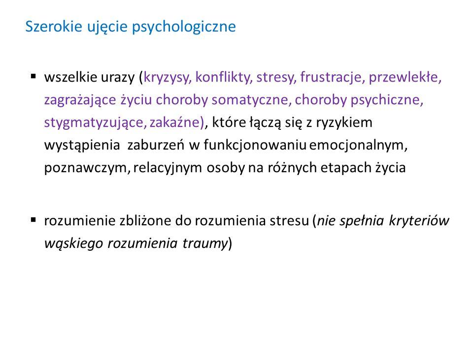 Szerokie ujęcie psychologiczne