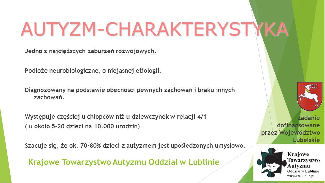 AUTYZM-CHARAKTERYSTYKA