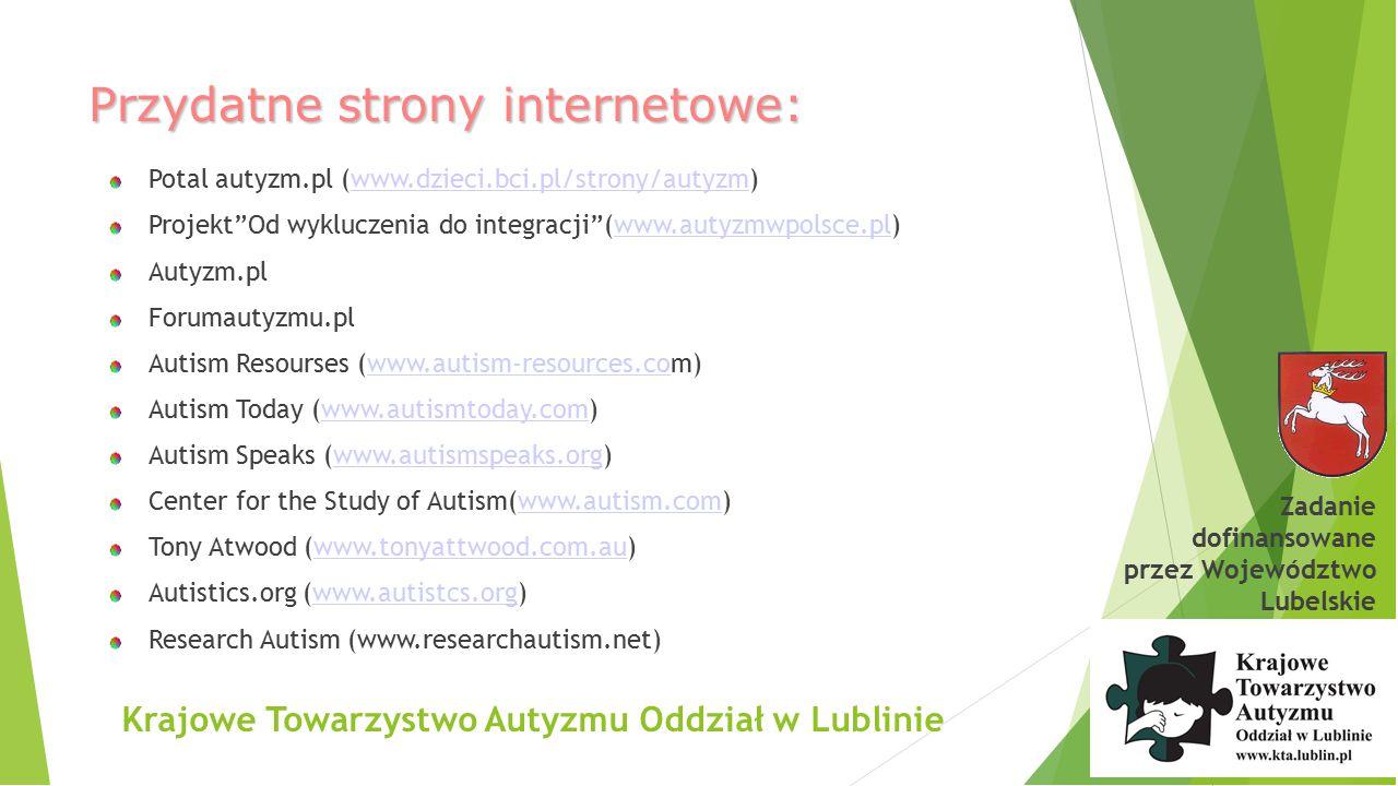 Przydatne strony internetowe: