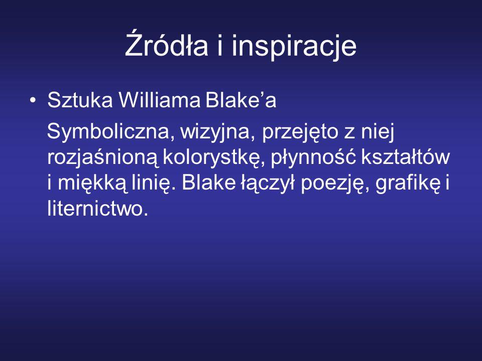 Źródła i inspiracje Sztuka Williama Blake'a