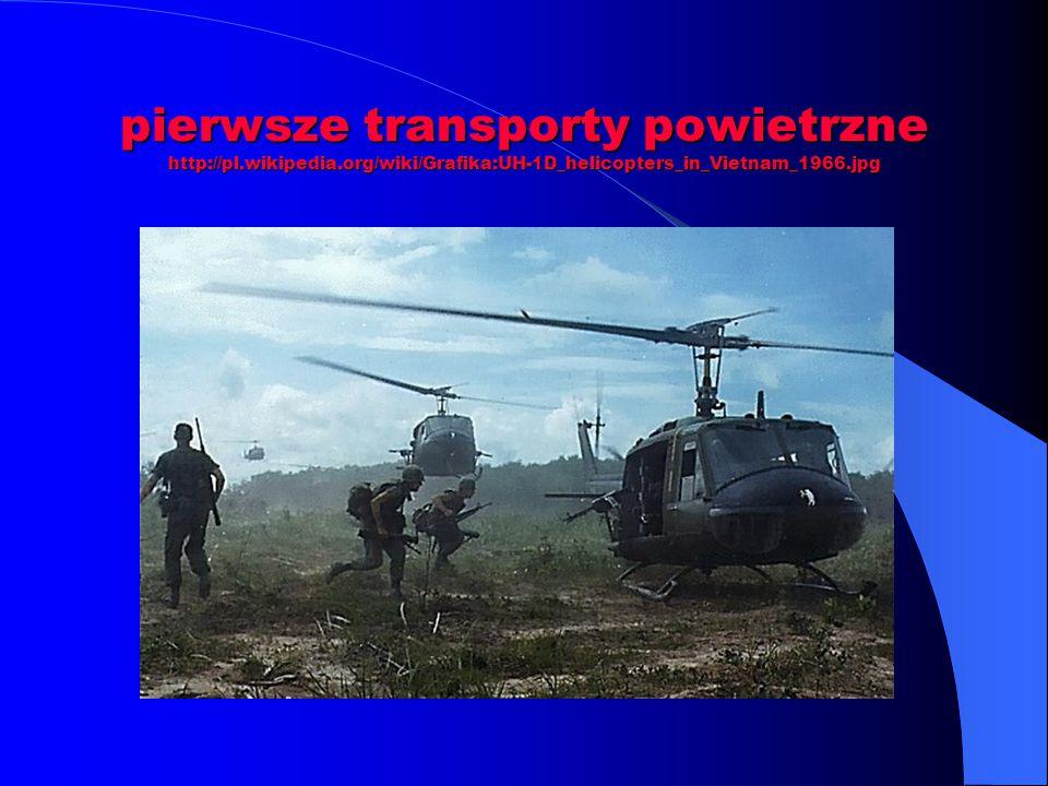 pierwsze transporty powietrzne http://pl. wikipedia