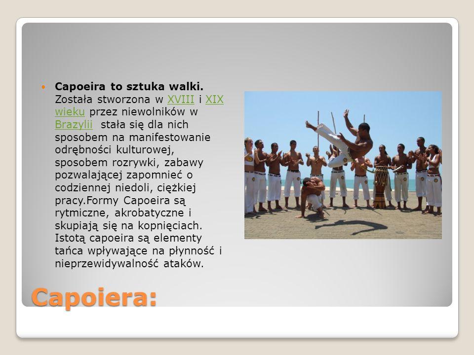 Capoeira to sztuka walki