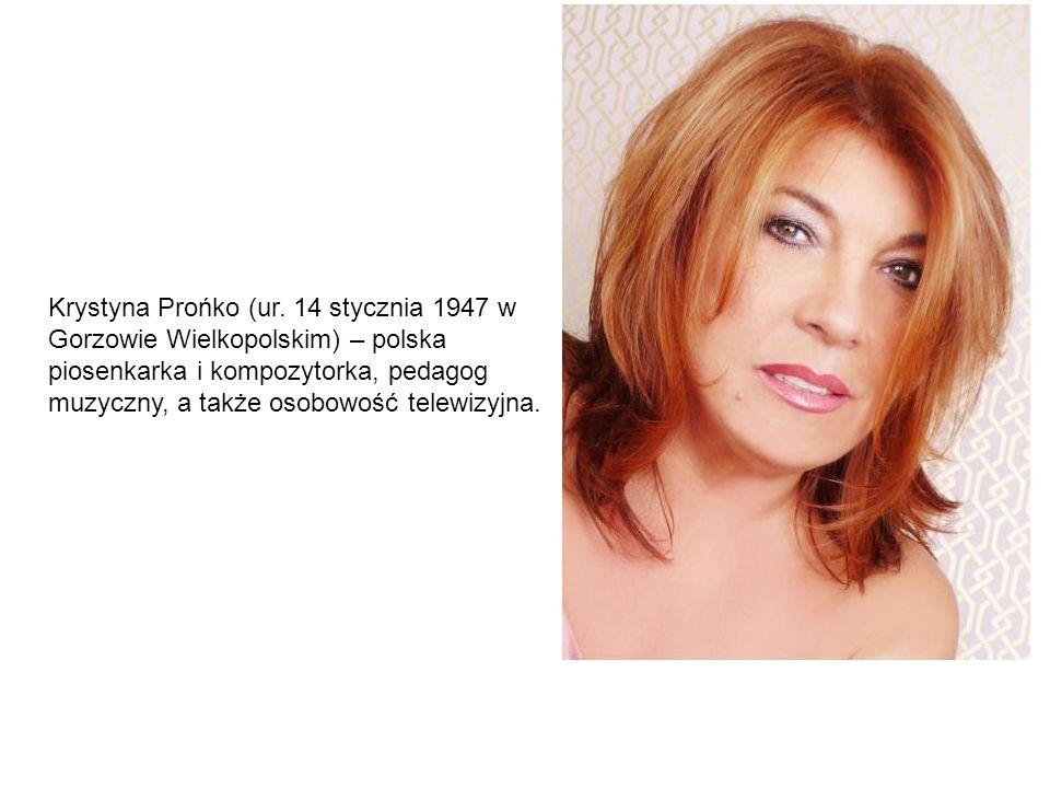 Krystyna Prońko (ur.