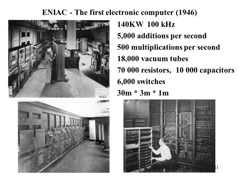 ENIAC - The first electronic computer (1946)