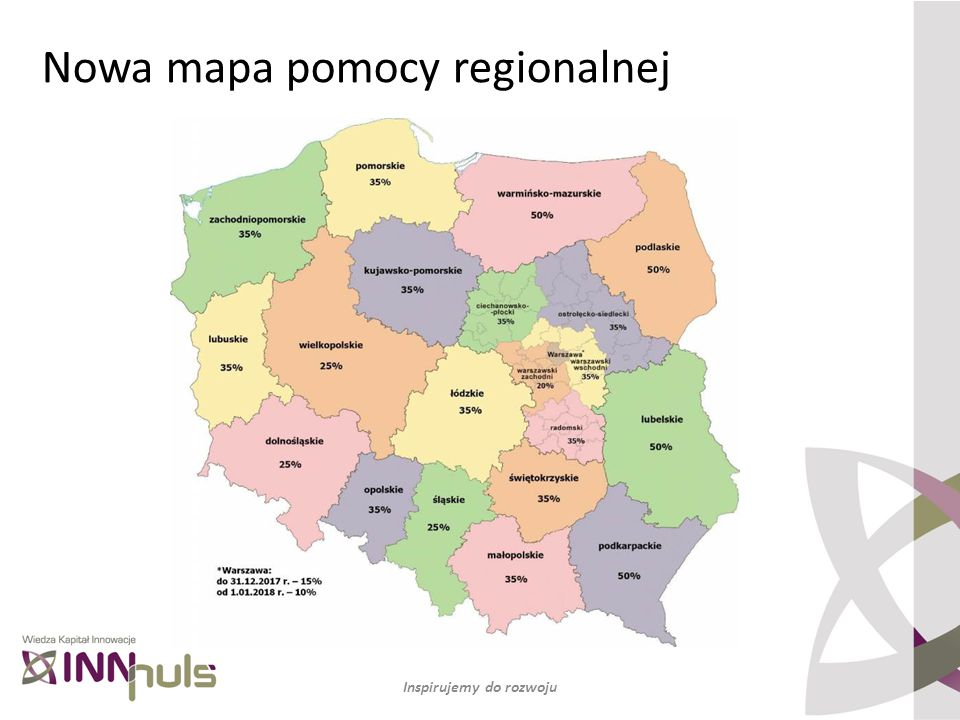 Nowa mapa pomocy regionalnej