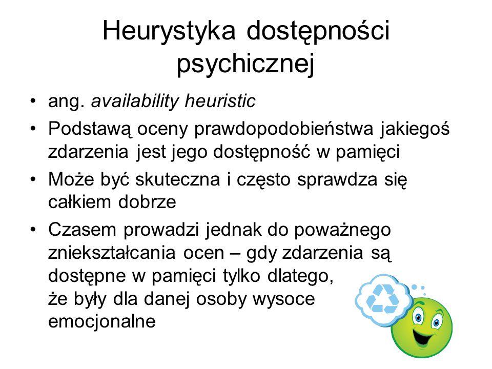 Heurystyka dostępności psychicznej