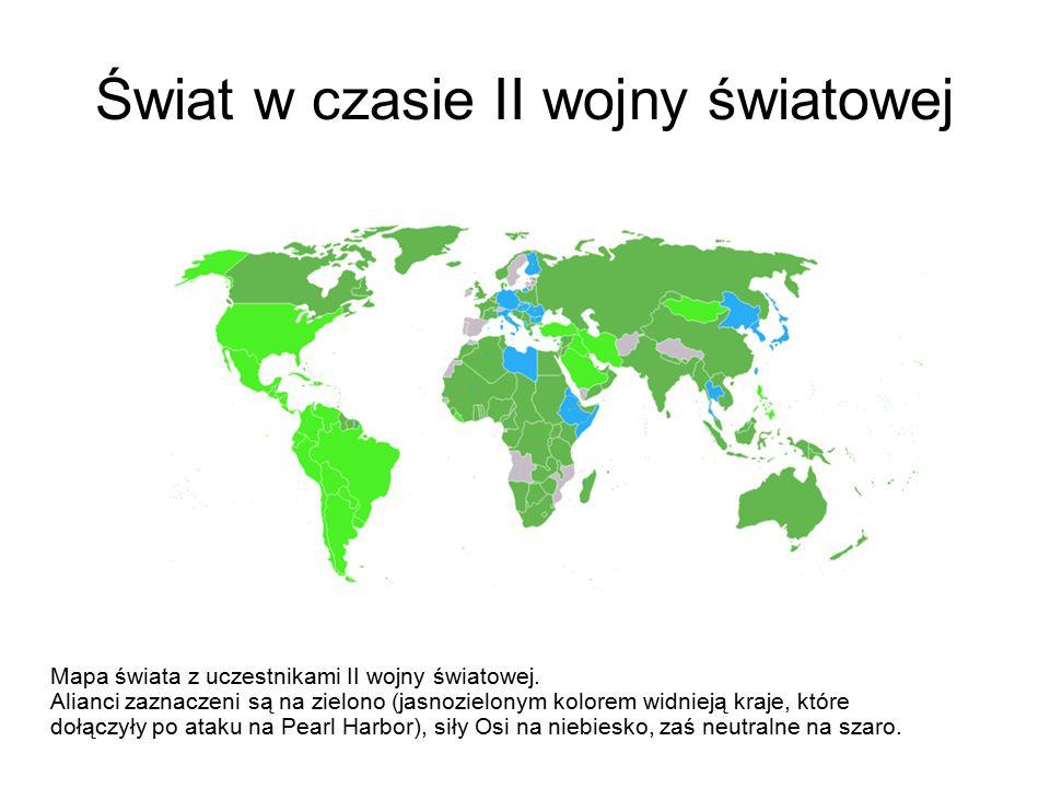 Świat w czasie II wojny światowej