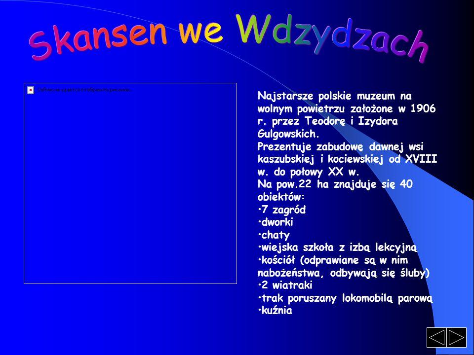 Skansen we Wdzydzach