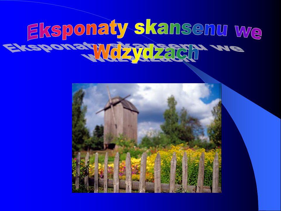 Eksponaty skansenu we Wdzydzach