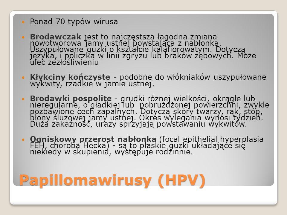 Papillomawirusy (HPV)