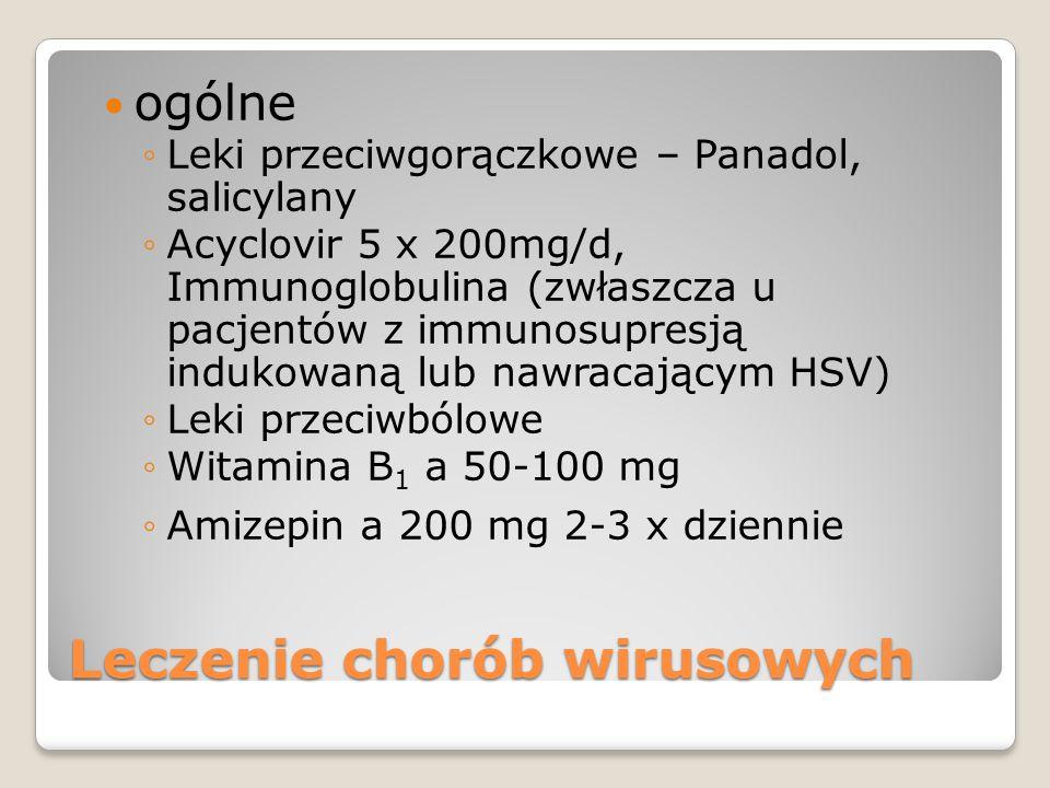Leczenie chorób wirusowych