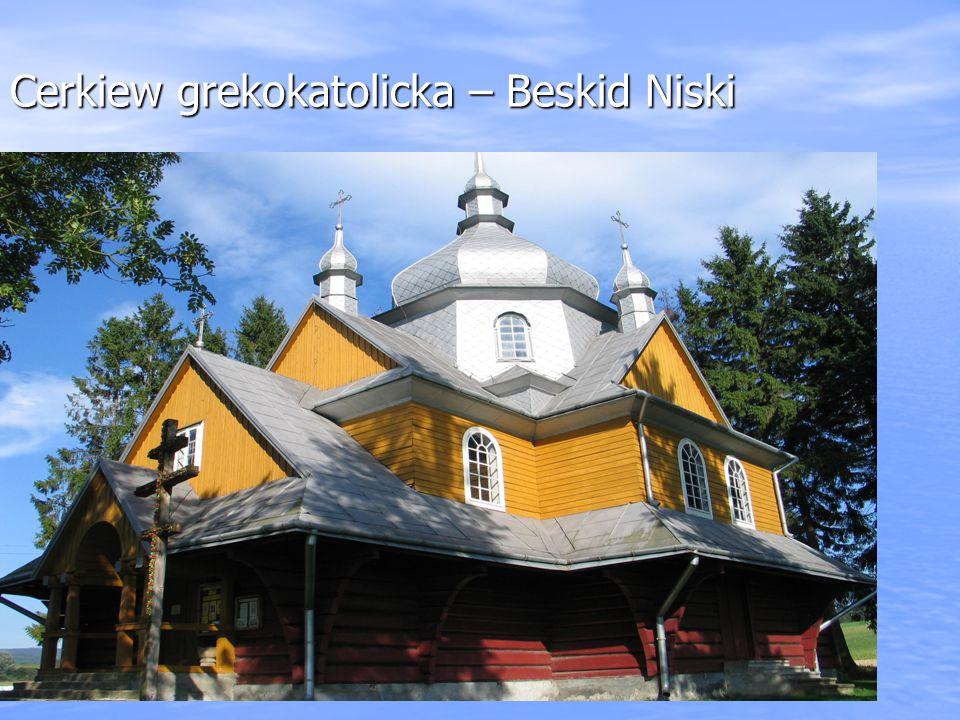Cerkiew grekokatolicka – Beskid Niski